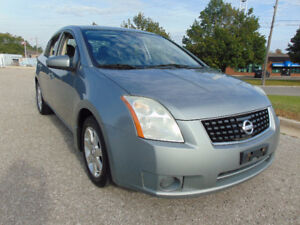 2008 NISSAN SENTRA SL, BLUETOOTH, CLEAN CAR-PROOF, ONE OWNER.