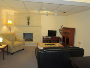 Fully Furnished Newly Renovated Basement Apartment For Rent