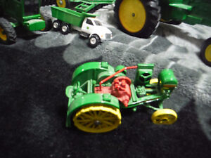 john deere toy tractors and wagons and some other stuff London Ontario image 6
