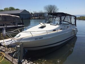 Boat - 26 foot Wellcraft cabin cruiser with trailer