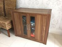 Walnut sideboard cupboard