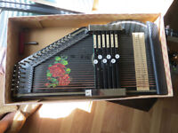 "Antique "" The ROSEN"" Autoharp - More pictures added"