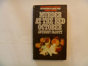 MURDER AT THE RED OCTOBER by Anthony Olcott