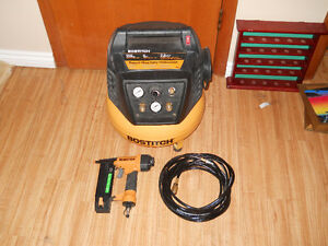 Bostitch Compressor and Nailer Combo