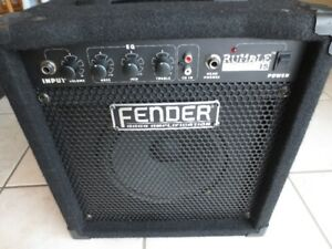 Fender Rumble 15, amp, amplificateur