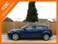 2013 Audi A3 1.4 TFSI SE 5 Door 6 Speed Sat Nav Bluetooth Air Con Parking Sensor