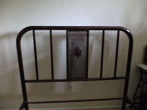 Vintage Metal Double Bed