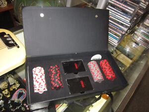 HUGO BOSS Poker Set With Carrying Case For Sale