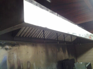 Vent hood with fire suppression system