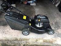 Petrol champion self propelled lawn mower