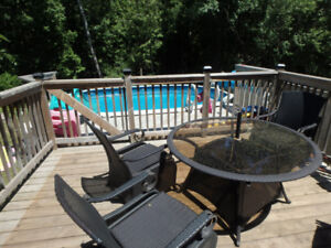 12' x 18' Permanent Above Ground Pool ++++ (reserved ppu)
