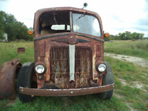 1946 White Cabover Truck