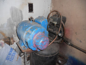 Air compressor and tank