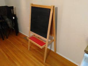 Ikea childrens chalkboard