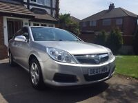 Silver Vauxhall Vectra 2ltr CDTi (07) in Silver (12 months MOT)