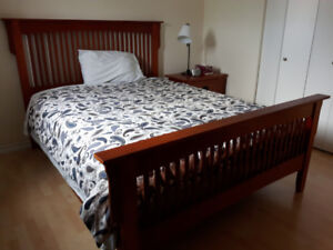 6 Piece Queen Size Bedroom Set in Excellent Condition *SEE PICS*