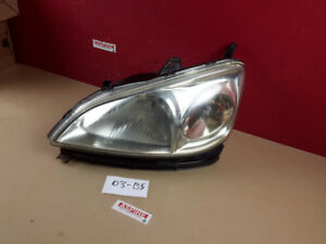 2001-2003 Acura EL Headlight Head light Lamp Driver Left Side OE