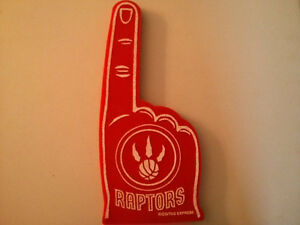 Toronto Raptors foam finger $10