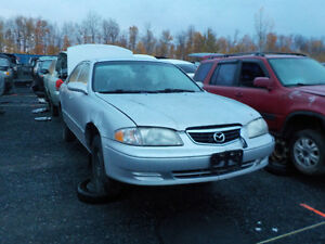 2001 Mazda 626 Now Available At Kenny U-Pull Cornwall