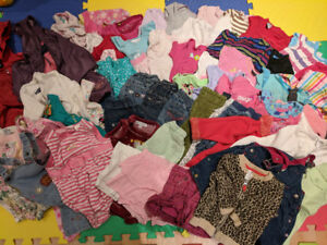 63pc Vêtements bebe fille 18 mois / months baby girl clothes
