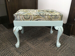 Vintage Footstool Refinished