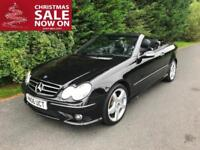 2006 MERCEDES CLK 280 SPORT 7G-TRONIC AUTOMATIC CONVERTIBLE 3.0 PETROL
