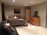 ROOM FOR RENT- BEDROOM FULLY FURNISHED *WIFI/HYDRO -SEPT 1ST