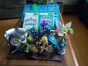 SKYLANDERS swap force and trap team