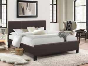 Selling Brand New Pu-Leather Bed