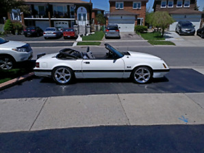 1987 FORD MUSTANG GT CONVERTIBLE 5.0L