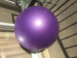 Exercise mat and ball