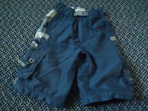 Boys size 4 Pair of Shorts With Camo Sides