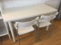 2 IKEA chairs + a free table
