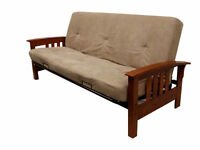brand new futon  only $100 with mattress  WWW.SLEEPYKING.CA