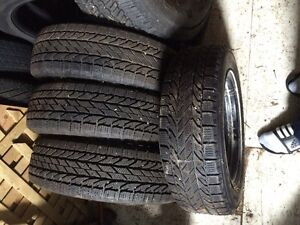 """14"""" winter tires and on rims"""