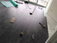 Laminate flooring & tile installation
