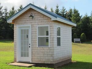 Tiny Garden House to be moved.
