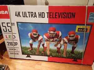 Brand new 55inch  4K ultra hd tv rca