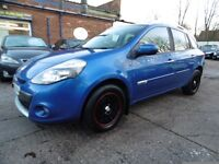 Renault Clio 1.5 DCI 86 DYNAMIQUE TOMTOM (FULL SERVICE HISTORY + TIMING BELT CHANGED) (blue) 2010