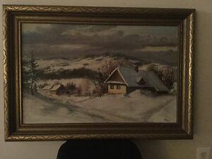 Original Oil Painting Sarnia Sarnia Area image 1