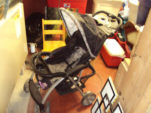 Two Baby/Toddler Strollers Safety First