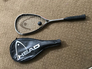 Head squash racquet, bag and ball