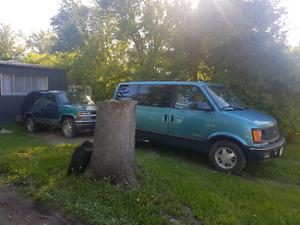 Van & blazer 1,500 OBO