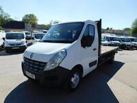 RENAULT MASTER F3500 2.3CDTI XLWB FLATBED IDEAL PALLET TRUCK
