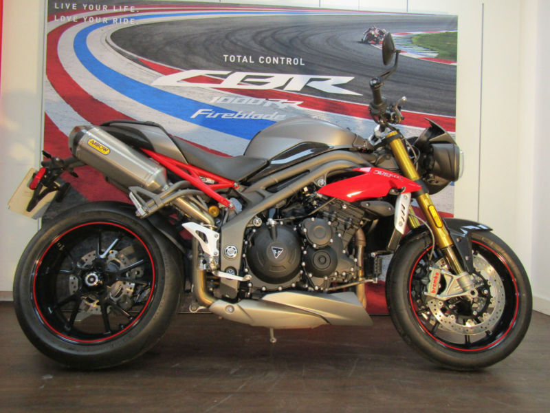 Triumph Speed Triple R Arrow Exhaust In Farnham Surrey