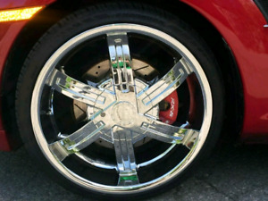 ● make an offer ●  20 inch Chrome Rims Paid over $4200 + taxes