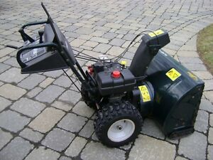 "Very good condition 30"" YardWorks Snowblower"
