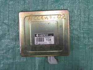 Hyundai Accent 1.5L Engine Computer ECU 2002