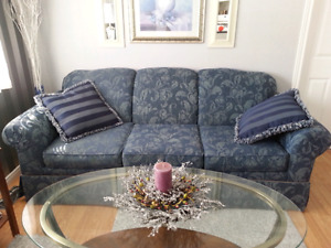 Couch and matching chair for sale