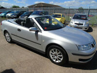 Saab 9-3 1.8t 2006MY Linear CABROLET